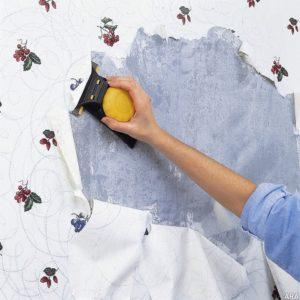 Как снять обои со стен: действенные способы