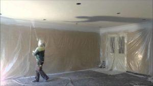 механизированная покраска стен