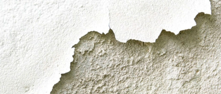 как смыть побелку со стен быстро