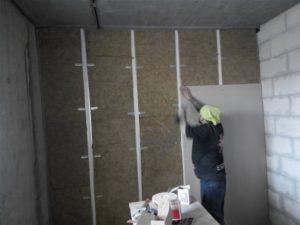 черновая отделка стен