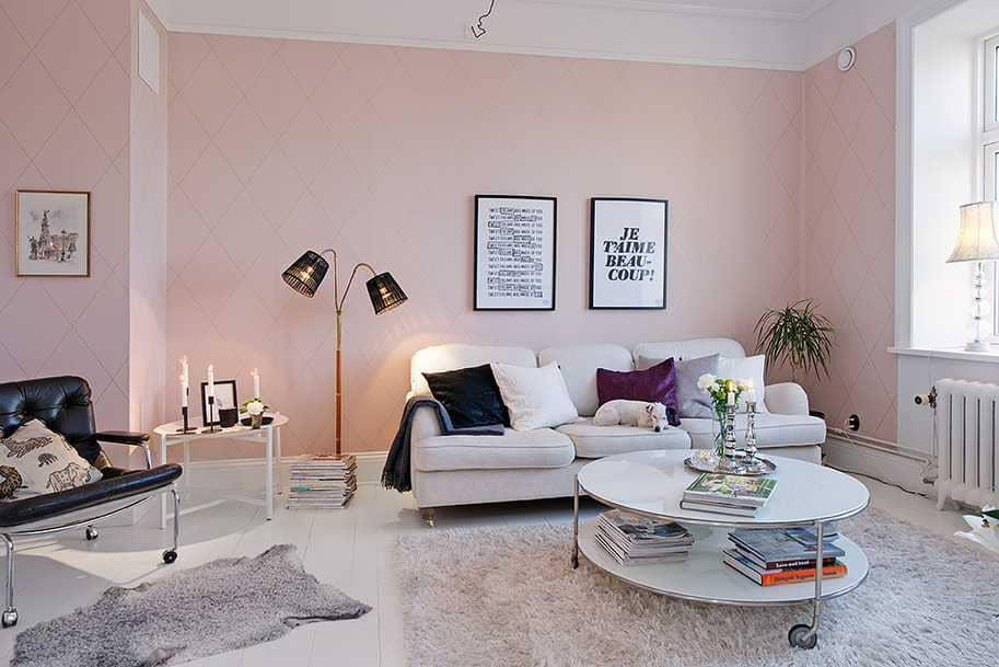 фото цветов для стен в доме светлые оттенки нем