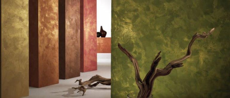 краска с эффектом бархата для стен