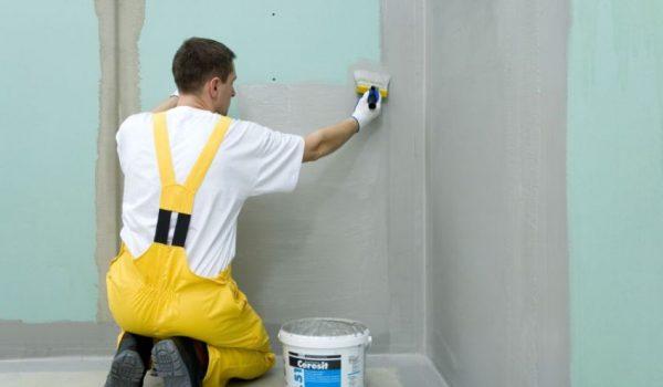 Чем лучше всего обработать бетонные или кирпичные стены для хорошей гидроизоляции снаружи и внутри помещения