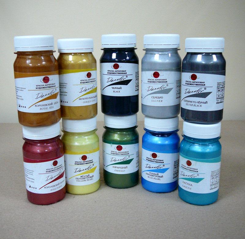 краска акриловая для стен