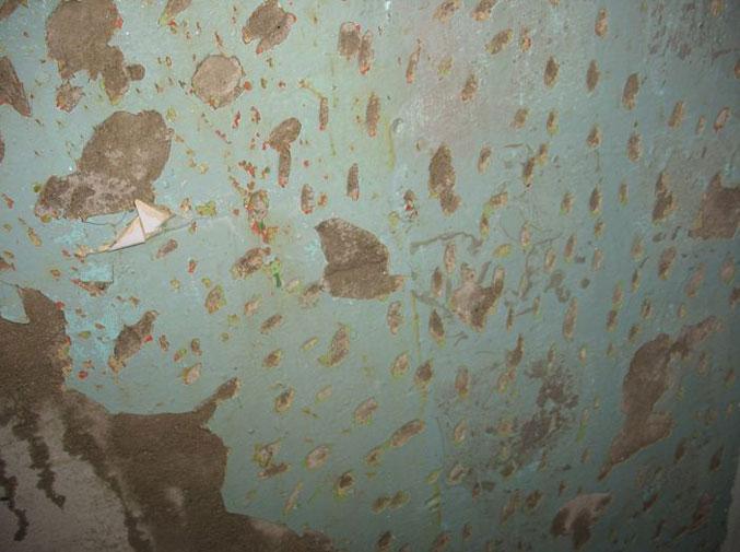 как снять краску со стен