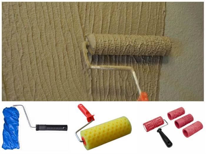 как красить валиком стены