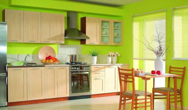 Как подобрать цвет стен для маленькой или большой кухни: какие подходят или нет, какие выбрать