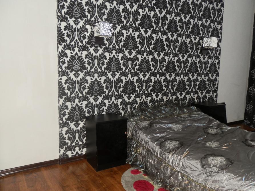 обои черно белые для стен