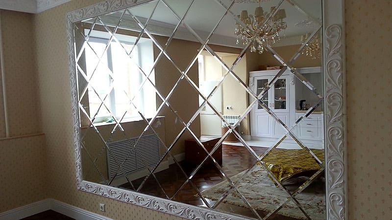 зеркальная стена