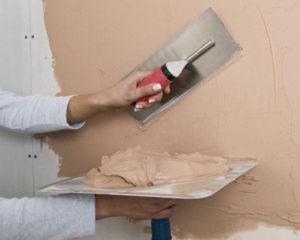 подготовка стены под декоративную штукатурку