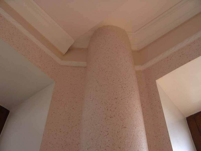 флоковое покрытие стен
