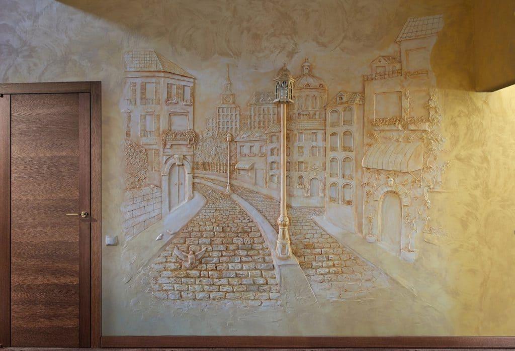 лепнина на стенах в квартире