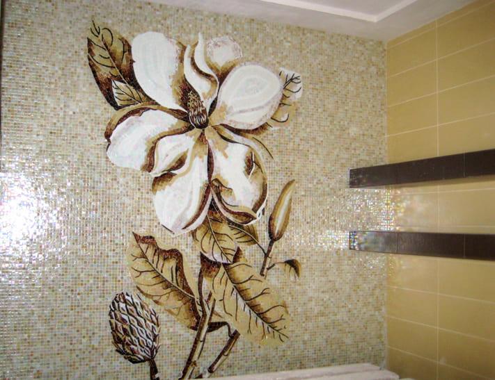 панно на стену из плитки