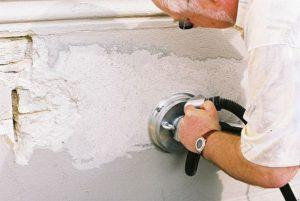 как снять шпаклевку со стены