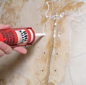 чем заделать дыру в стене