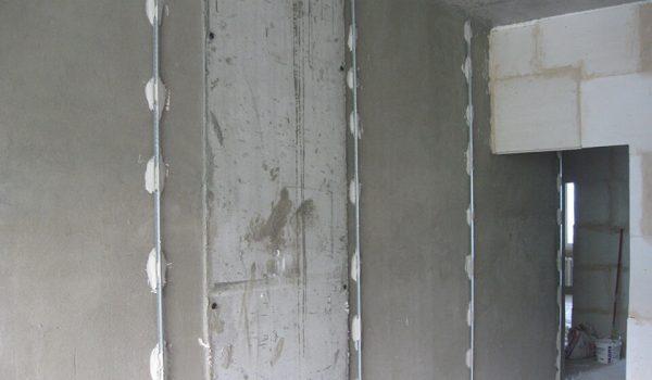 Как оштукатурить стены по маякам: технология выравнивания, установка и разметка своими руками от А до Я