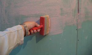 грунтовка под плитку на стены