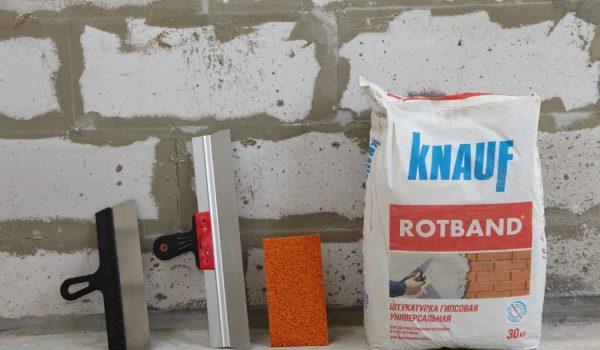 Как выбрать или приготовить своими руками цементно-известковую или цементно-песчаную, гипсовую штукатурку для стен внутри помещения: рекомендации, обзор
