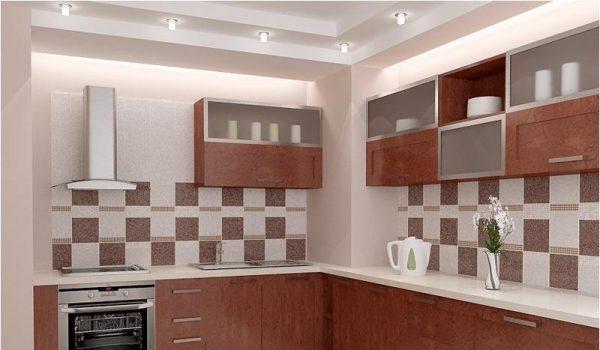 Декоративная ПВХ плитка для отделки стен в кухне: как оформить рабочую поверхность у плиты или задекорировать стену над обеденным столом