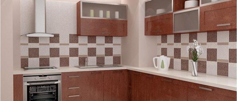плитка на кухне на стены