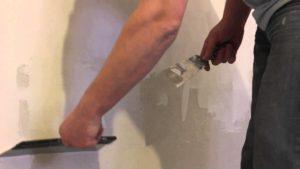 шпаклевка стен финишной шпаклевкой
