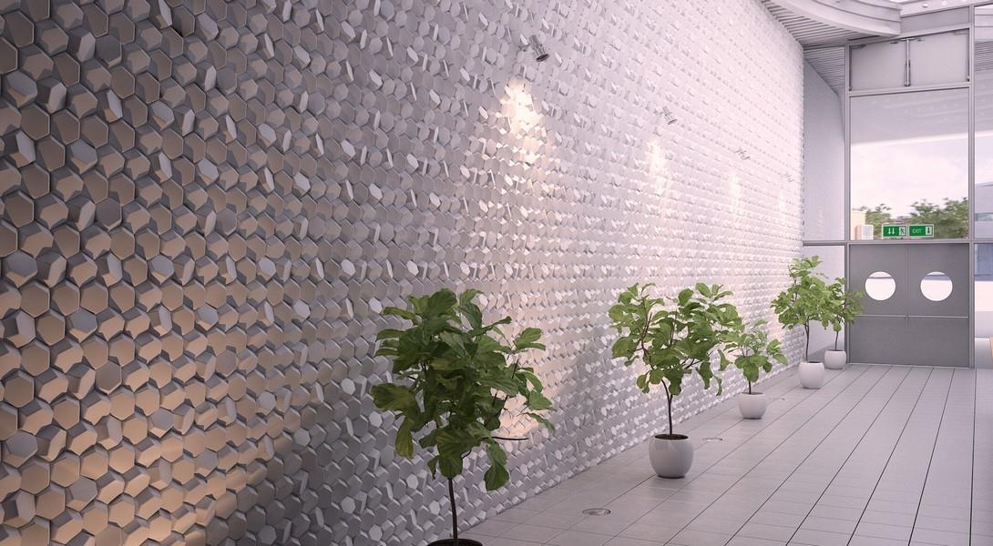 3 д панели гипсовые для стен