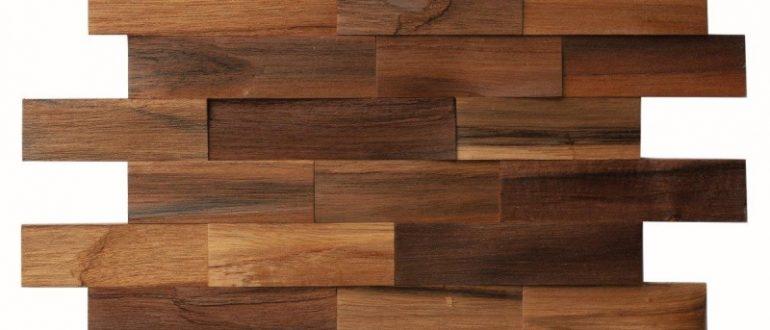 деревянная мозаика для стен