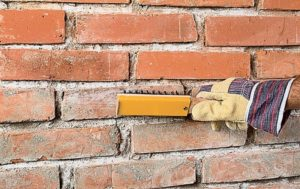 штукатурка кирпичной стены
