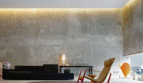 Как сделать бетонные стены в квартире: отделка или имитация под камень в ванной, оформление стен в зале и пример декора в стиле Лофт