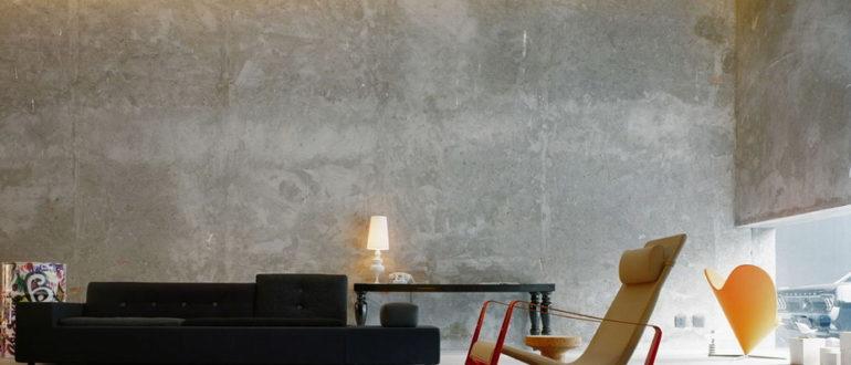 бетонные стены искусственная