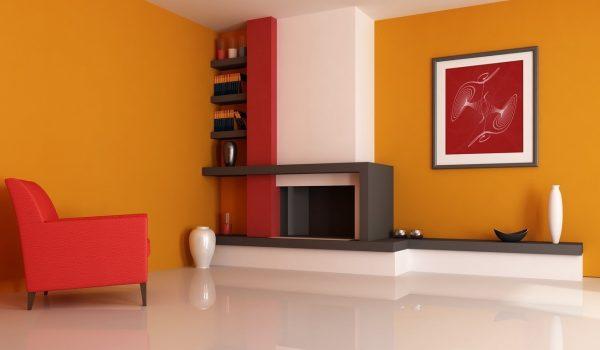 Солнечное настроение или правильный выбор оранжевых обоев для небольшой или просторной комнаты: советы по сочетанию, выбор оттенка и правила поклейки без шва