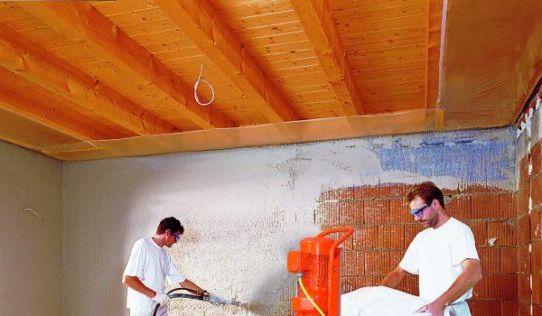 В чем преимущество механической или машинной шпаклевки стен: как работает станок, правила и руководство по работе с оборудованием
