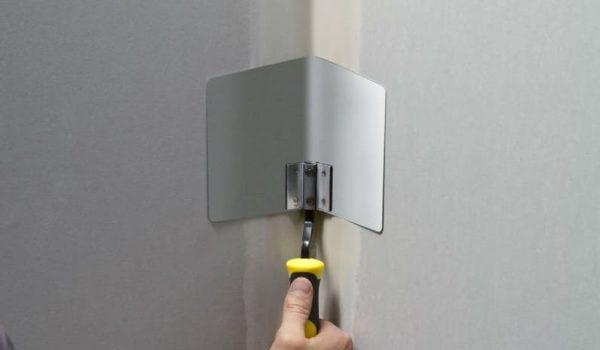 Шпаклевка углов внутренних, наружных или у потолка внутри помещения: как правильно проводить работы, какую смесь выбрать