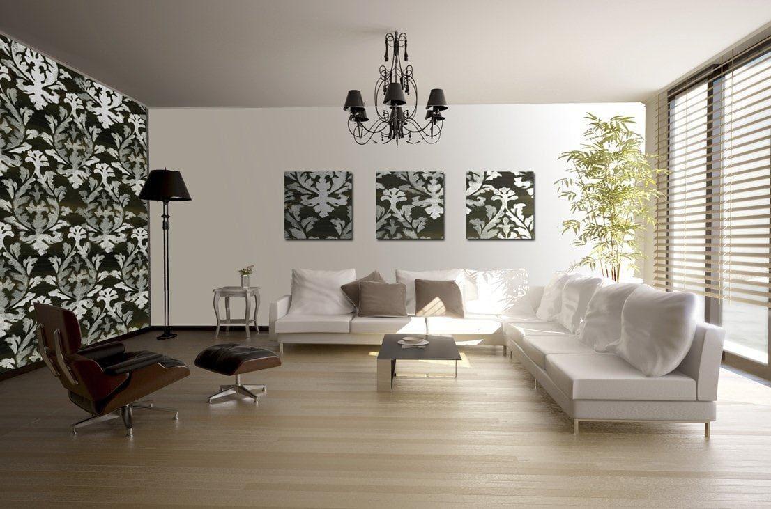 Картинки дизайн стен в зале