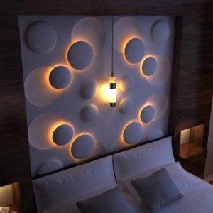 световое панно на стену