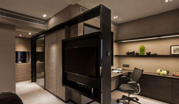 Как можно разнообразить интерьер комнаты с помощью декоративной перегородки из гипсокартона: советы, фото примеры