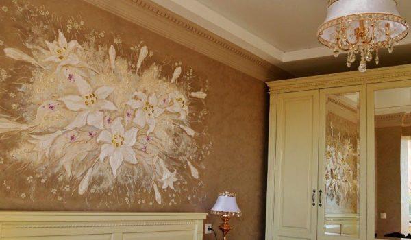 Реализация фантазии на стенах внутри квартиры или идеальное сочетание стиля и практичности - барельеф своими руками