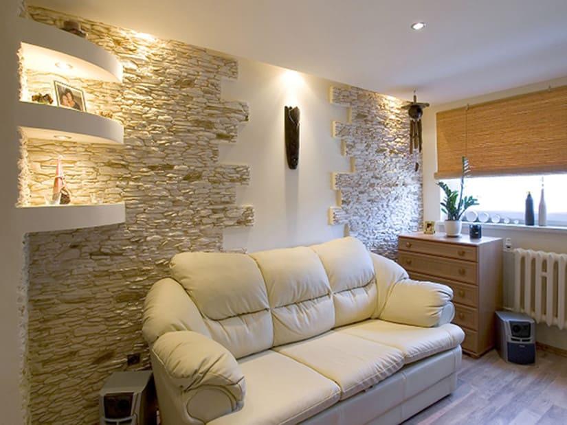 Бетонные декоративные элементы лучше не использовать в помещении с резкими переменами температур.