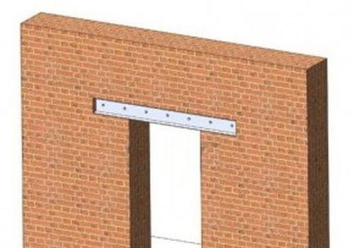 Можно ли проводить усиление оконного или дверного проема в стене кирпичного или монолитного дома без разрешения?