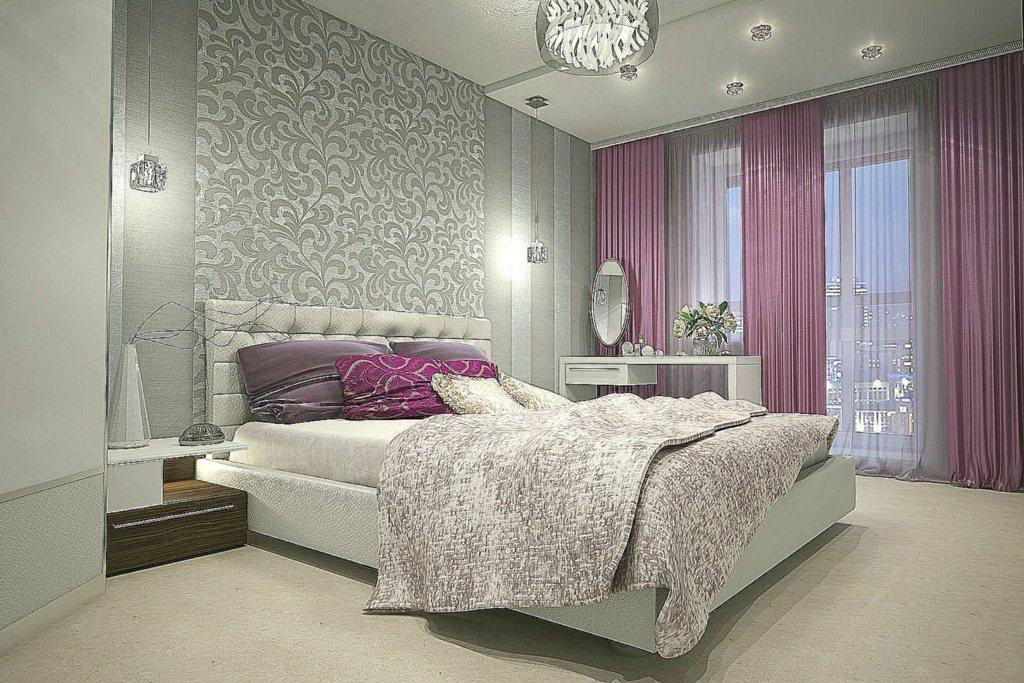 Современный дизайн спальни — как выбрать стильные обои
