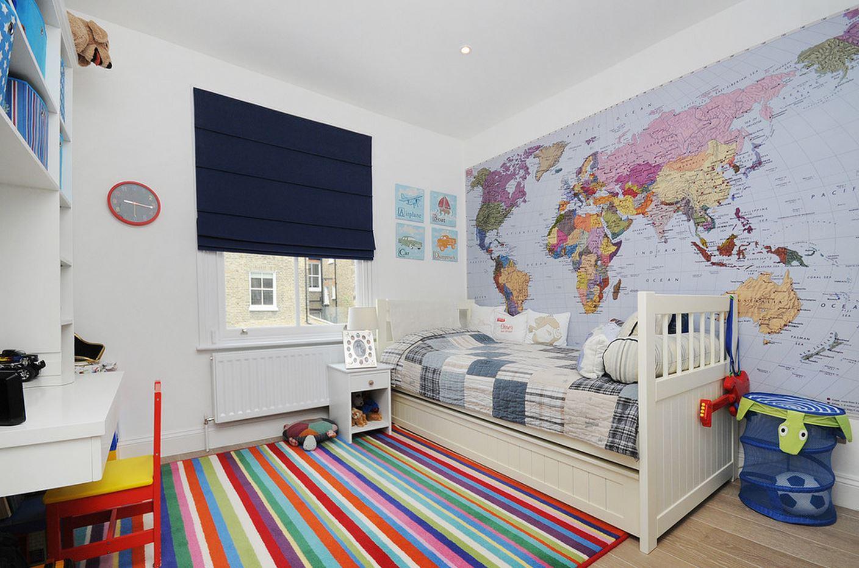 Выбор детских обоев для девочки, мальчика, в комнату разнополых детей