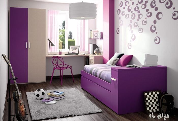 Какие бывают обои фиолетовых оттенков — обзор вариантов