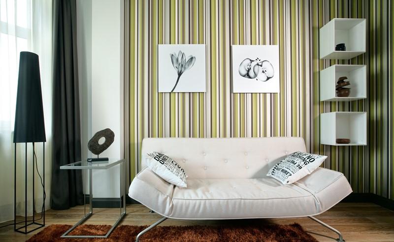 Обзор вариантов обоев для оформления гостиной