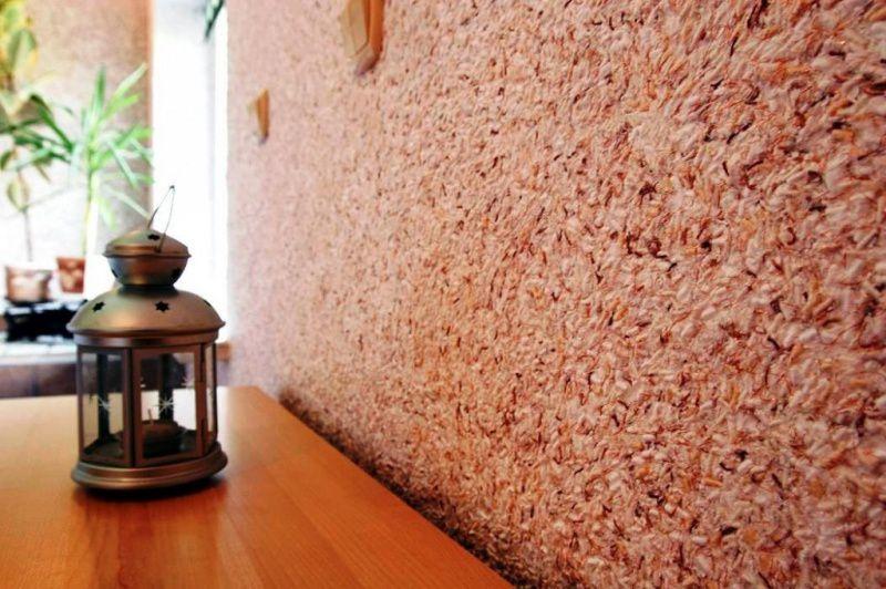 Основные сведения о жидких обоях для нанесения на стены