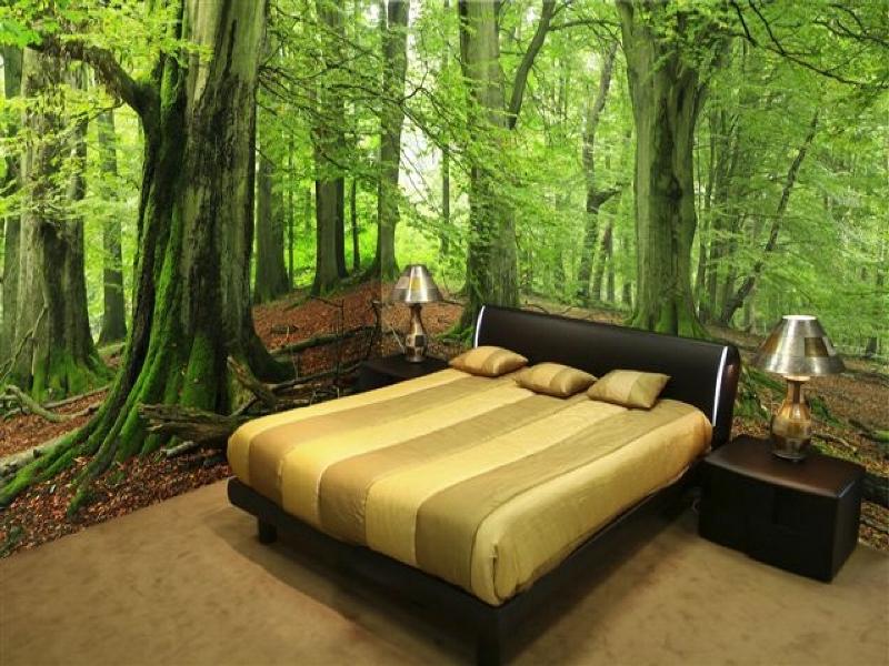 Современный стиль в дизайне комнаты — выбор обоев