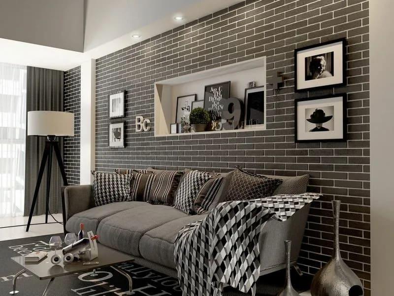 Обзор разных вариантов черных обоев для стен