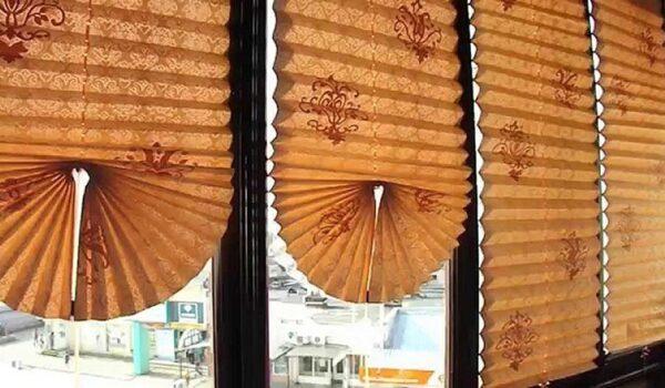 Как самостоятельно сделать обойные жалюзи на окна вместо штор