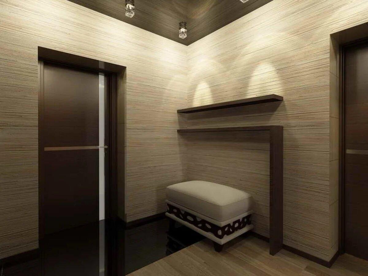 Отделка стен в коридоре — варианты облицовочного материала